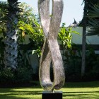sculptura 8 stainless steel garden sculpture 2
