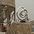 Double Twisted - Stainless Steel Sculpture