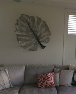 Monstera - Stainless Steel Wall Sculpture