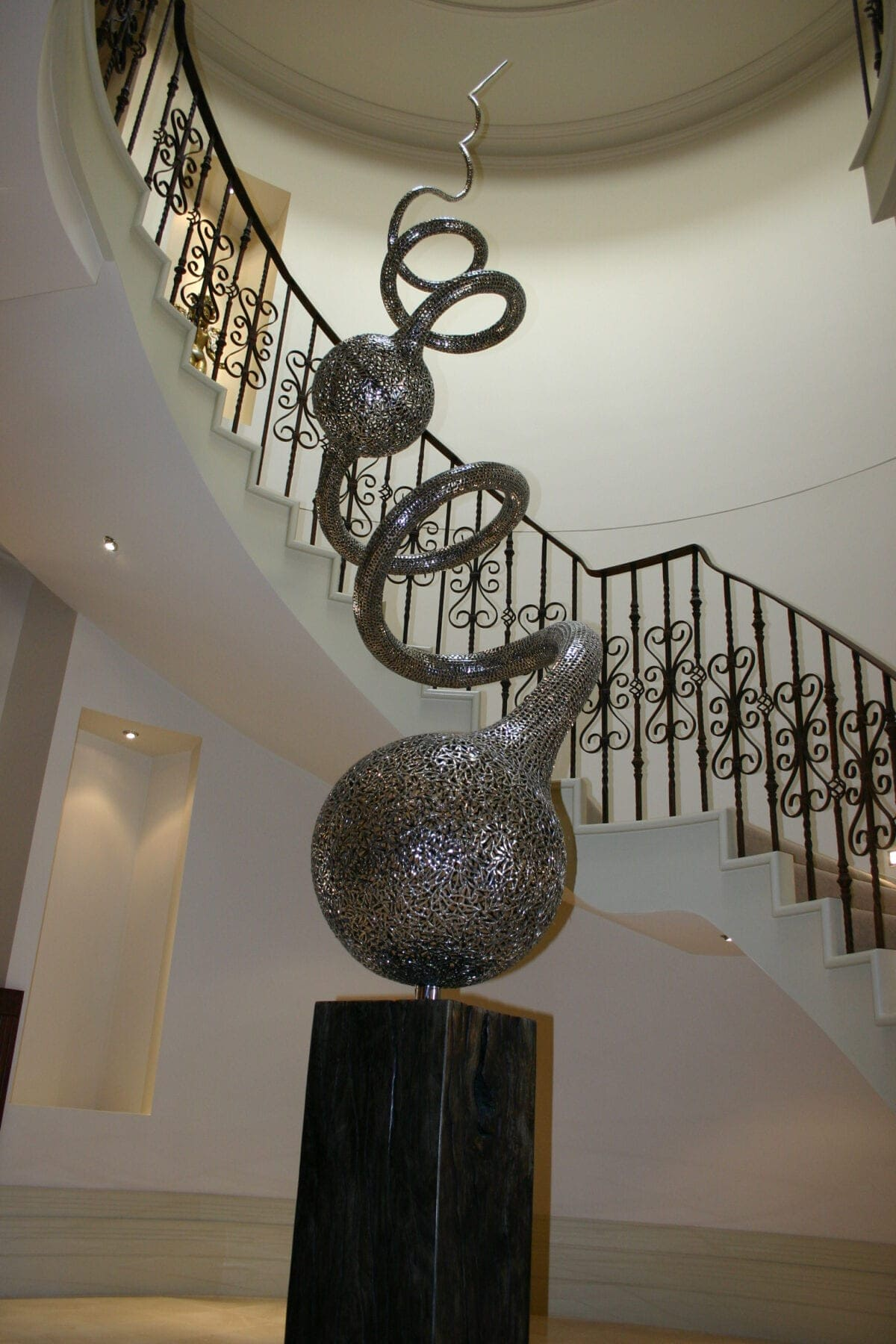 Stainless Steel Sculpture Rental Corporate