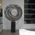 corporate art rental - stainless steel sculpture