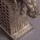 Bronze Panther Sculpture