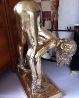 Femme Fatale Bronze Sculpture