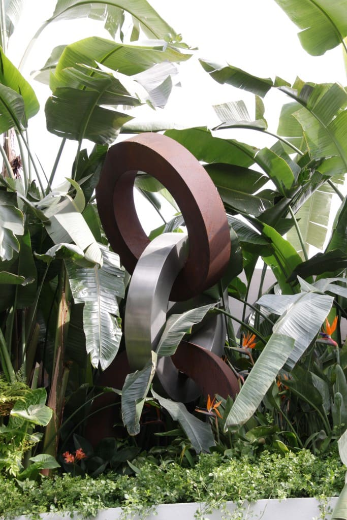 3 Rings Stainless Steel Sculpture