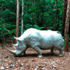 sculptura_christian_maas_rhino_steel_Sculpture