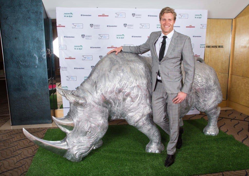 aluminium sculpture rhinoceros