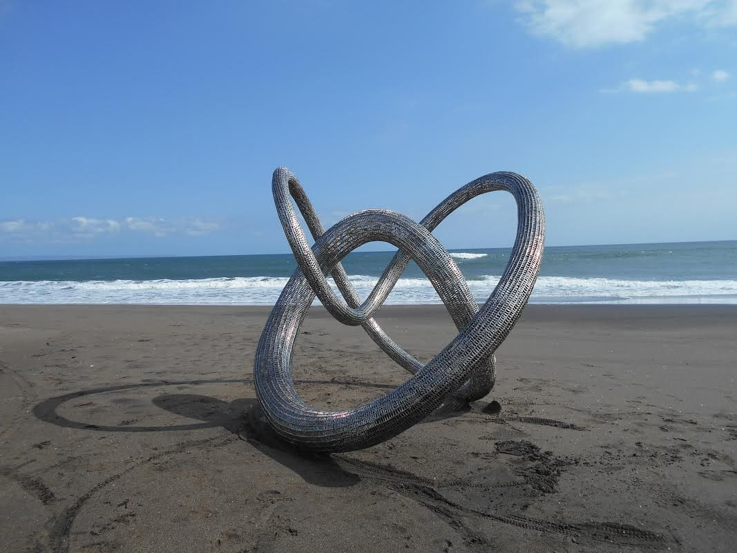 Opulence - stainless steel sculpture