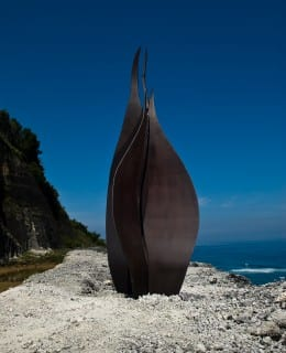 corten steel sculpture