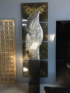 Wings Stainless Steel Sculpture