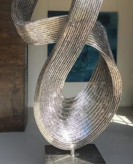 Epic Stainless Steel Sculpture