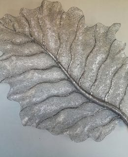 Leaf Stainless Steel Wall Sculpture