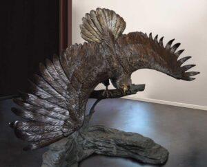 Bronze Sculpture Eagle - 3m x 2m