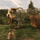 dancing girl - sculpture