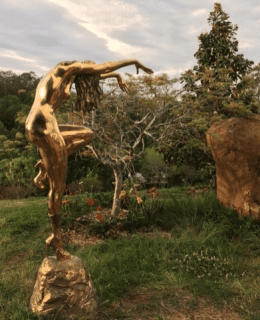 dancing girl - sculpture