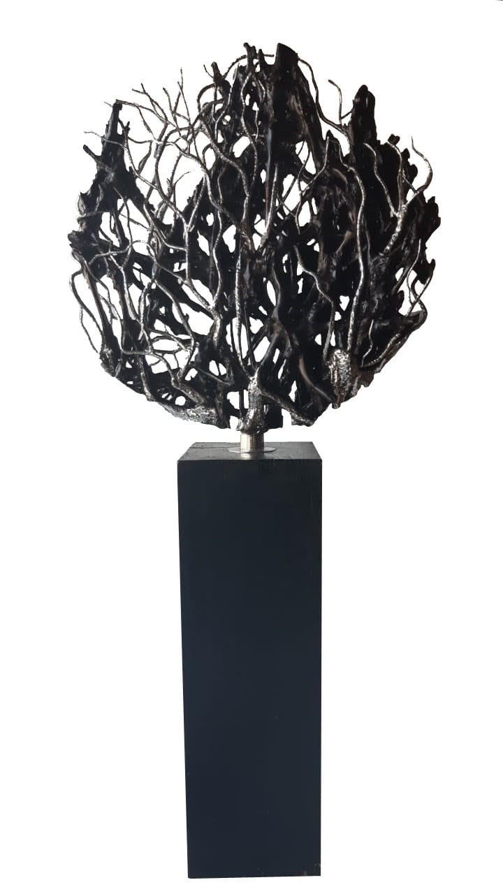 tangle - steel sculpture