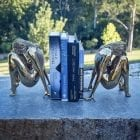 Sculptura Bookends Steel Sculpture
