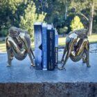 Sculptura Bookends Steel Sculpture