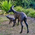 Bambino - Bronze Sculpture