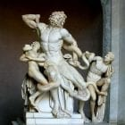Laocoön and His Sons - three Greek sculptors from the island of Rhodes: Agesander, Athenodoros and Polydorus,