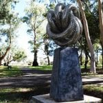 Sculptura stainless steel sculpture - Eternity by Lachlan Ross